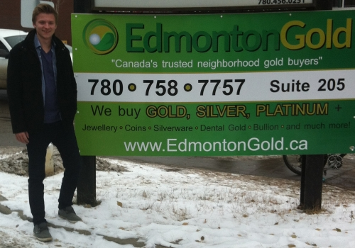 Canada Gold Opens new Edmonton Gold Buyers Location